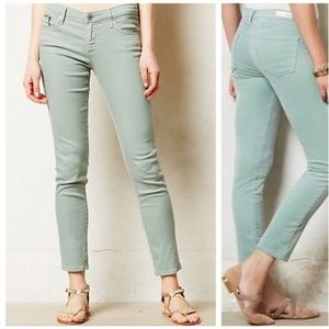 AG The Stevie Ankle Zip Slim Straight Leg Jean 27R